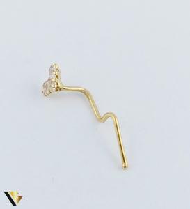 Piercing aur 18k, 0.25 grame (R)1