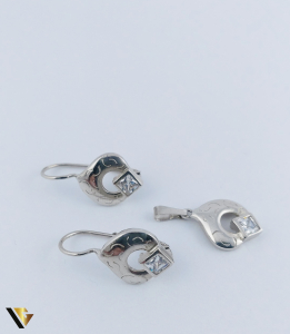 Set Argint Cercei si Pandantiv, 4.99 grame (R)0