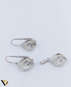 Set Argint Cercei si Pandantiv, 4.99 grame (R)1