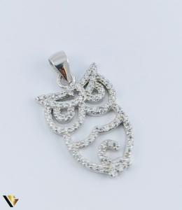 Pandantiv Argint 925, Bufnita, 2.11 grame (R)0