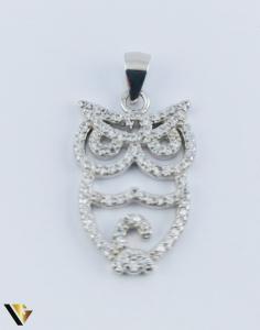 Pandantiv Argint 925, Bufnita, 2.11 grame (R)1