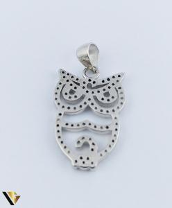 Pandantiv Argint 925, Bufnita, 2.11 grame (R)2
