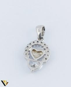 Pandantiv Argint 925, Inima, 1.54 grame (R)1