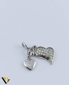 Pandantiv Argint 925, Inimi, 1.68 grame0