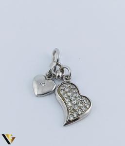 Pandantiv Argint 925, Inimi, 1.68 grame1