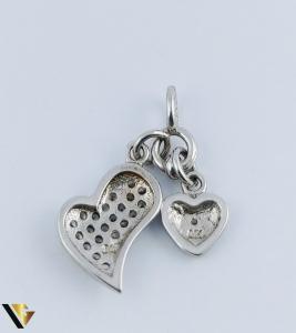 Pandantiv Argint 925, Inimi, 1.68 grame2