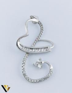 Pandantiv Argint 925, Inima, 2.17 grame (R)0