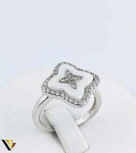 Inel Argint 925, Agata Alba, 4.18 grame (R)0