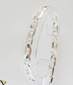 """Bratara din argint 925 17.72 grame Lungimea bratarii este de 21 cm Latimea bratarii este de 7 mm Marcaj cu titlul """"925"""" Locatie HARLAU [0]"""