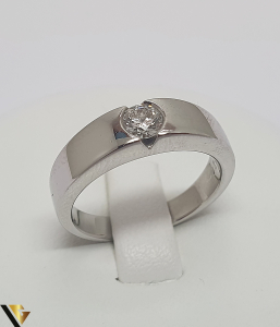 Inel Aur 18k, Diamant de cca. 0.26 ct, 6.63 grame (IS)0