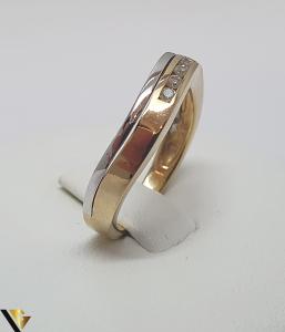 Inel aur 18k, Diamante de cca. 0.10 ct, 3.44 grame (IS)1