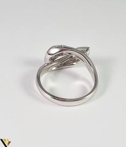 Inel Aur Alb 18k, Diamante cca 1.12ct, 5.45 grame (R)3