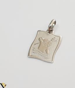 Pandantiv din aur 18k, 750 1.49grame Lungimea pandantivului cu anou este de 23 mm Latimea pandantivului este de 13mm Locatie HARLAU [0]