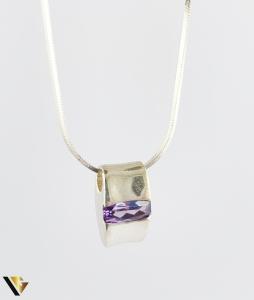 Pandantiv Argint 925, Ametist, 3.27 grame (R) [1]