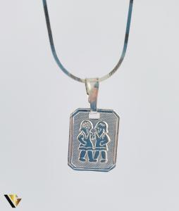 Pandantiv Argint 925, Zodia Gemeni, 1.33 grame (R) [0]