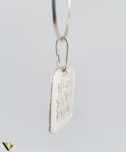 Pandantiv Argint 925, Zodia Gemeni, 1.33 grame (R) [1]