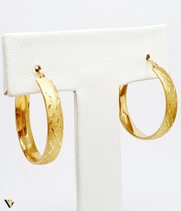 Cercei aur 18K , 3.89 grame (BC M)1
