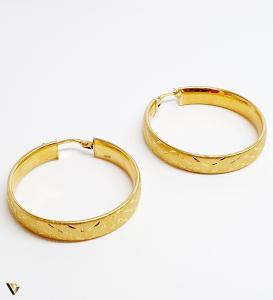 Cercei aur 18K , 3.89 grame (BC M)0