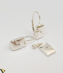 Set Argint Cercei si Pandantiv,5.01grame (H)0