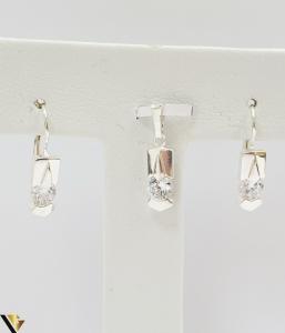 Set Argint Cercei si Pandantiv,5.05grame (H)2