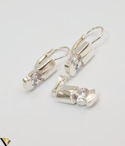 Set Argint Cercei si Pandantiv,5.05grame (H)1