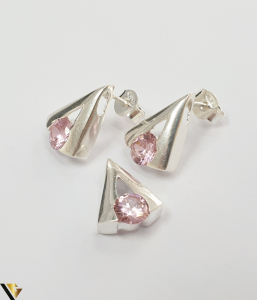 Set Argint Cercei si Pandantiv,4.79grame (H)1