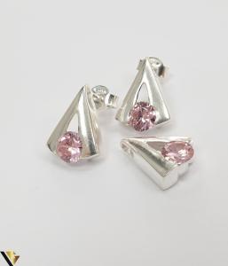 Set Argint Cercei si Pandantiv,4.79grame (H)0