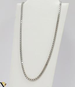 """Lant din argint 925 11.55 grame Lungime de 40 cm Latime de 2.3mm Marcaj cu titlul """"925"""" Locatie HARLAU [0]"""