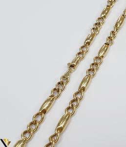 """Lant din aur 14k, 585 13.60 grame Lungime de 60 cm Latime de 4.5 mm Marcaj cu titlul """"585"""" Locatie HARLAU [1]"""