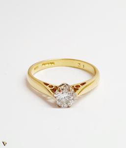 Inel Aur 18k, Diamant 0.31ct, 2.12 grame (BC M)1