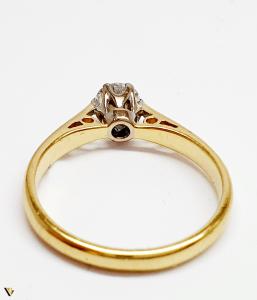 Inel Aur 18k, Diamant 0.31ct, 2.12 grame (BC M)2