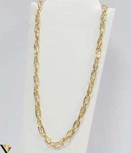 """Lant din aur 14k, 585 6.18 grame Lungime de 45 cm Latime de 4.5 mm Marcaj cu titlul """"585"""" Locatie HARLAU [0]"""