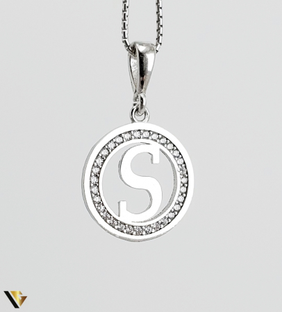 Pandantiv Argint 925, 1.91 grame (R) litera litere S [0]