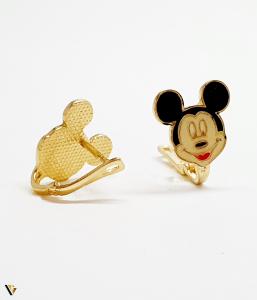 "Cercei aur 14K ,""Minnie Mouse"" , 1.95 grame (BC M) [1]"