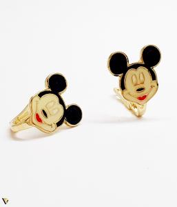 "Cercei aur 14K ,""Minnie Mouse"" , 1.95 grame (BC M) [0]"