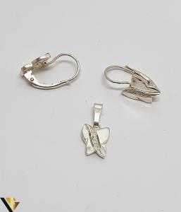 Set Pandantiv si Cercei Argint 925, 2.91 grame (IS) [1]