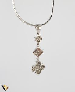 Pandantiv din argint 925 1.62 grame Cristale de zirconiu [0]