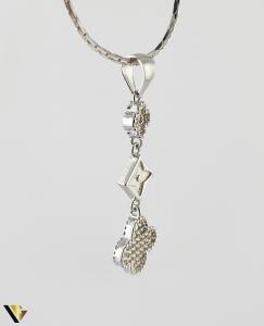 Pandantiv din argint 925 1.62 grame Cristale de zirconiu [1]