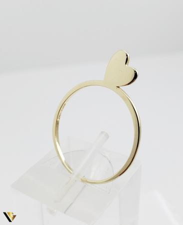 Inel Aur 14k, 1.44 grame (R) inima [2]