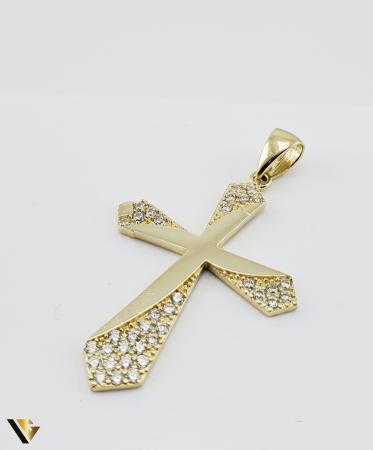 Pandantiv Aur 14K, 2.84 grame (R) cruce [2]