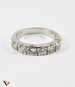 Inel Aur 18k, Diamante de cca. 1.40 ct in total, 4.16 grame (P) [1]