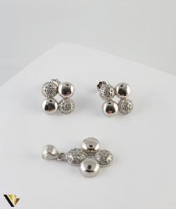 Set Argint Cercei si Pandantiv, 5.08 grame (R) [0]