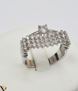 """Inel din argint, 925 5.08 grame Latime inel 9 mm Diametrul inelului este de 19mm (masura standard RO: 59 si UE: 19) Marcaj cu titlul """"925"""" Locatie HARLAU [0]"""