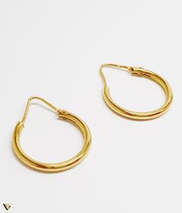 Cercei aur 18K , 3.72 grame (BC M) [0]