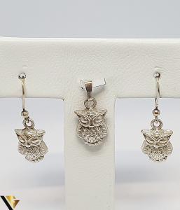 Set Pandantiv si Cercei Argint 925, 7.20 grame (IS) [0]