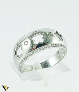 Inel Aur 14k, Diamante de cca 0.14 ct in total, 4.77 grame (P)0