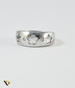 Inel Aur 14k, Diamante de cca 0.14 ct in total, 4.77 grame (P)1