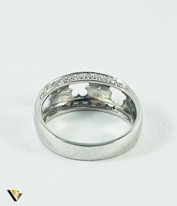 Inel Aur 14k, Diamante de cca 0.14 ct in total, 4.77 grame (P)2