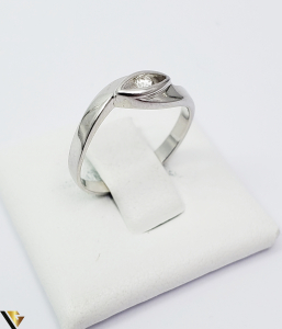Inel Aur 14k, Diamant de cca 0.06 ct, 2.28 grame (TG) [0]