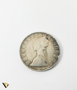 500 Lire, Italia, 1960, Argint 835, 10.95 grame (P)0